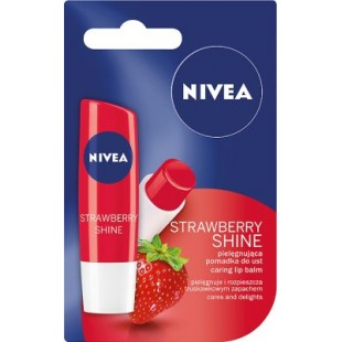 Nivea Strawberry Shine huulepalsam 4,8g