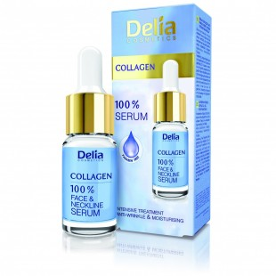 Delia collagen 100% seerum näole 10ml