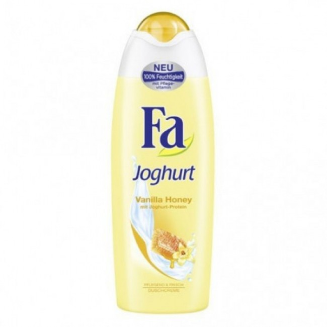 Fa Joghurt vanilla honey dushigeel 250ml