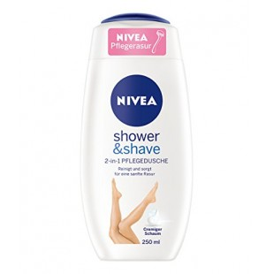 Nivea shower&shave dushigeel 250ml
