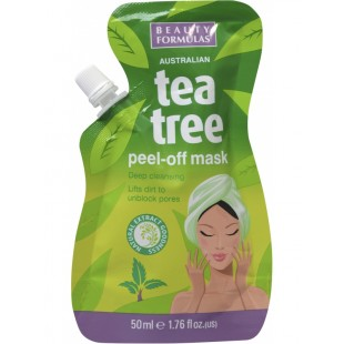 Beauty Formulas teepuuõliga peel off mask 50ml
