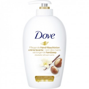 Dove shea butter and vanilla vedelseep 250ml