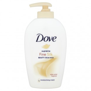 Dove kreemjas vedelseep fine silk 250ml