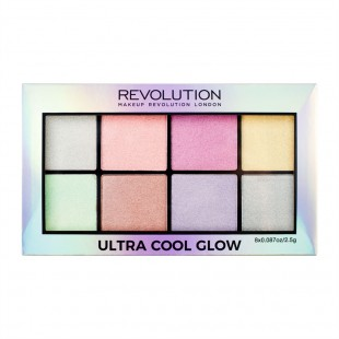 Revolution ultra cool glow highlighter palett