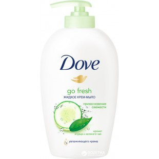 Dove vedelseep cucumber 250ml