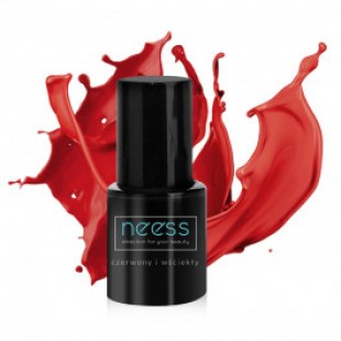 Nees UV geel-küünelakk Furious Red 8ml