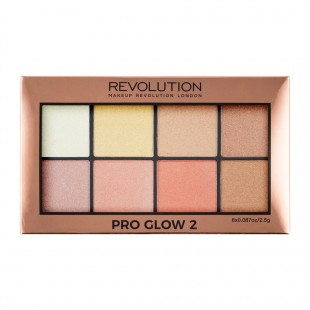 Revolution Pro glow 2 highlighter palett