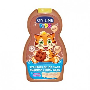 On Line dushigeel ja shapoon chocolate cookie 250ml