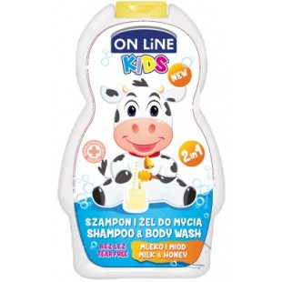 On Line shampoon ja dushigeel milk&honey 250ml