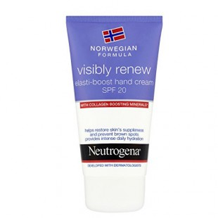 Neutrogena visibly renew SPF20 kätekreem 75ml