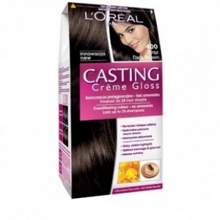 Loreal dark brown juuksevärv 400