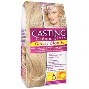 Loreal light frosted blonde juuksevärv 1013