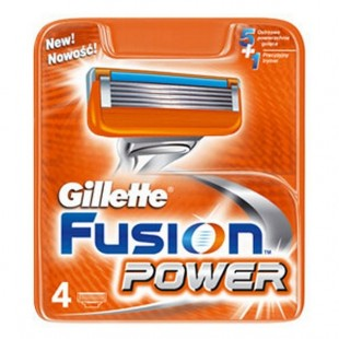 Gillette Fusion Power terad 4 tk
