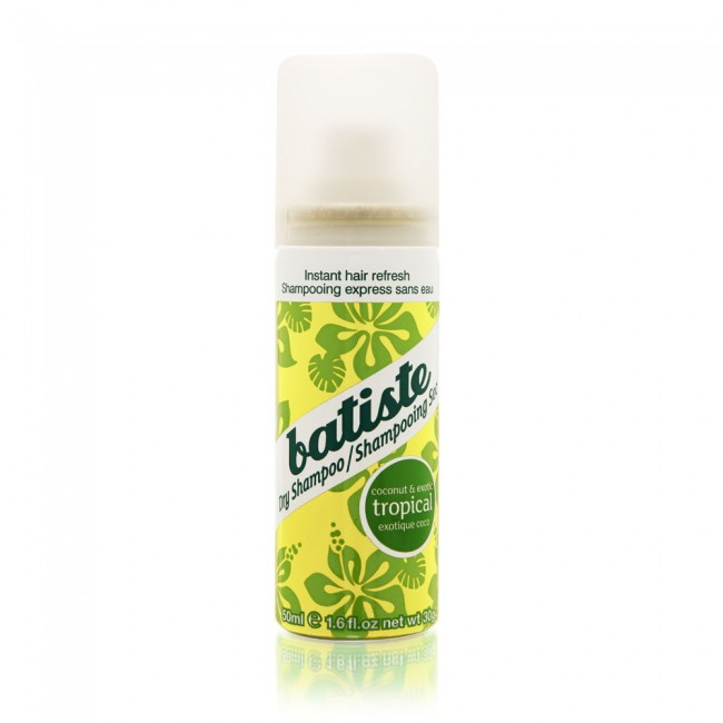 Batiste kookose lõhnaline kuivhampoon mini 50ml