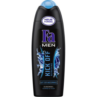 Fa men kick off body&hair 250ml