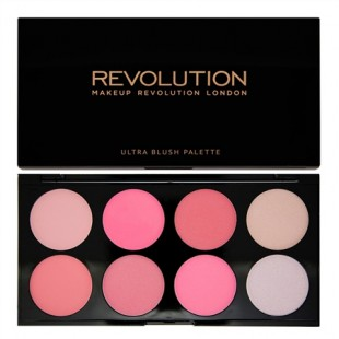 Makeup Revolution Blush palette All About Pink 13g