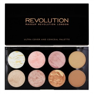 Makeup Revolution Blush Palette Golden Sugar 13g