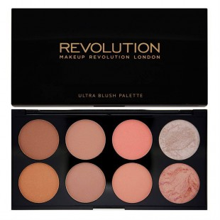 Makeup Revolution  Blush Palette Hot Spice 13g