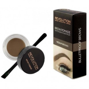 Makeup Revolution kulmugeel pinstliga medium brown 2,5g