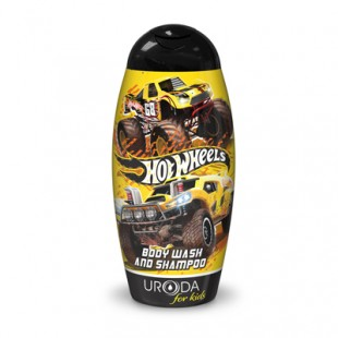 Hot wheels shampoon ja dushigeel, 250ml.