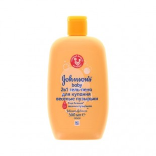 Jphnsons Baby 2in1 bubble bath and wash 500ml